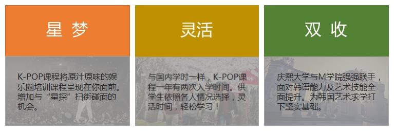 韩国K-POP课程优势
