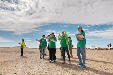 启德,河西走廊西部极旱荒漠地区