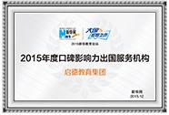 2015年度新华网口碑影响力出国服务机构