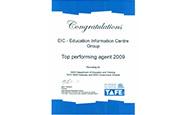新南威尔士州公立教育部颁发的最佳教育机构奖