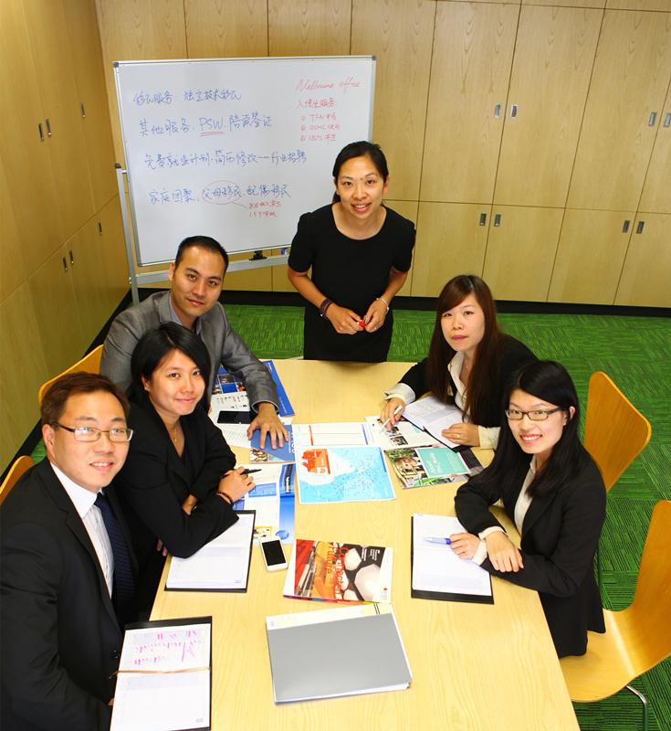 澳洲境外分公司顾问和辅导员