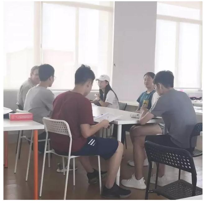 外教小组讨论