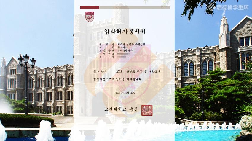 高丽大学录取